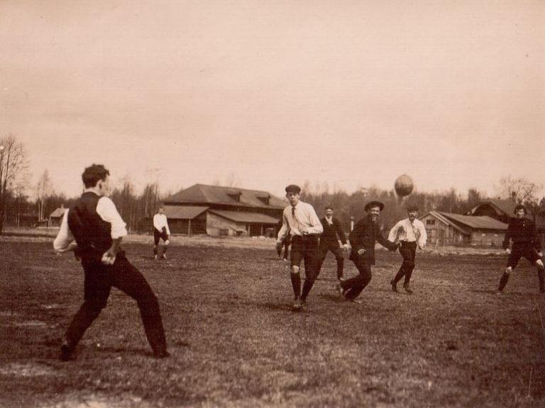 К 120-летию со дня первого официального матча по футболу