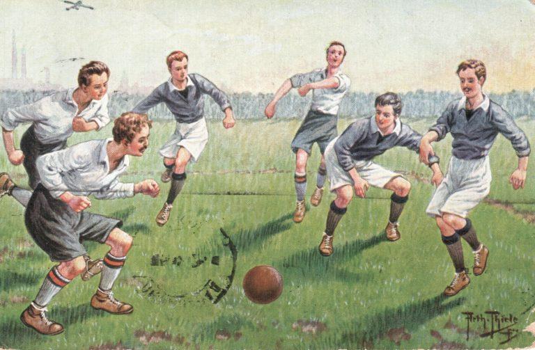 Официальная версия  — лекторий об истории зарождении футбола в России