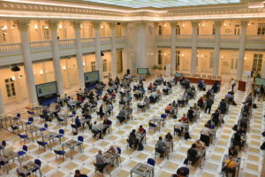 В Президентской библиотеке прошел новый шахматный турнир, который может стать традиционным