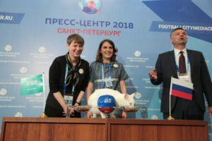 Пресс-центр ЧМ-2018 открыт в Санкт-Петербурге