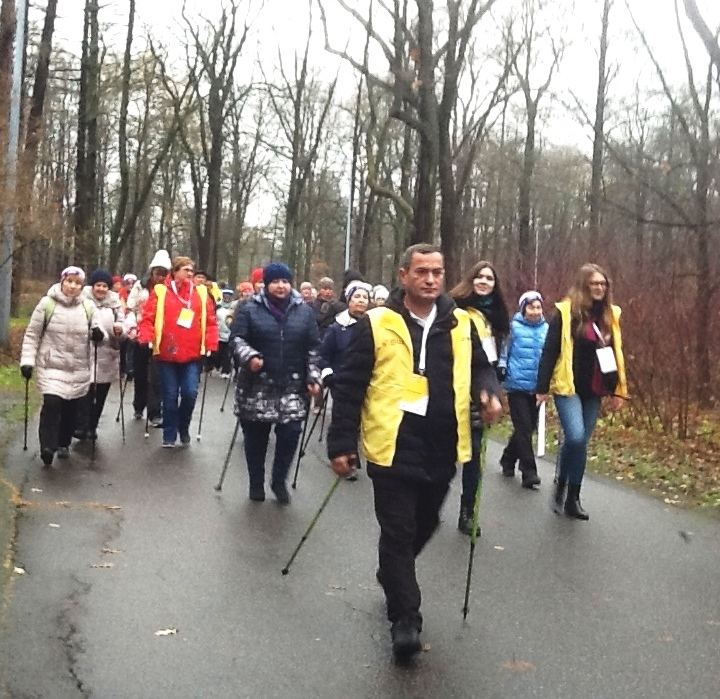 Идея Nordic Walking стартовала в Петербурге