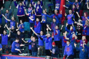 Победа ХК СКА над Динамо из Минска 5:1 в честь юбилея снятия блокады Ленинграда