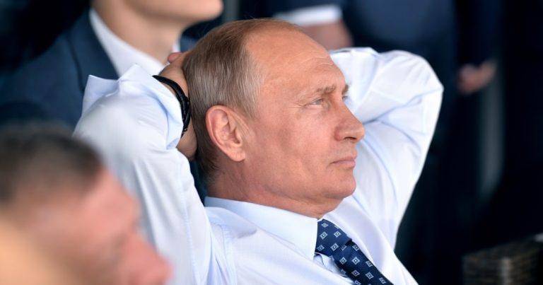 Владимир Путин приветствовал St. Petersburg Ladies Trophy 2019
