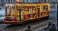Волшебный трамвай «СТИЛЯГА» идет по Санкт-Петербургу