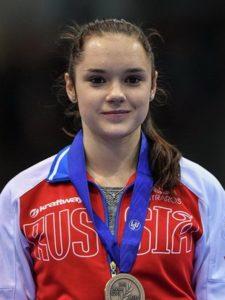 Петербурженка Софья Просвирнова блеснула в Софии.
