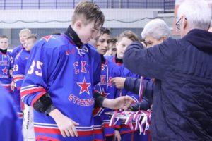 Состоялся 2-й хоккейный турнир ребят 2005-2006 г.р. «Кубок Валентина Быстрова».