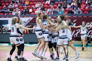 Студентки Политеха – 2-кратные чемпионы Ассоциации студенческого баскетбола.