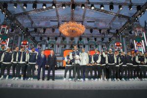 День рождения Санкт-Петербурга начался с чествования ФК «Зенит».
