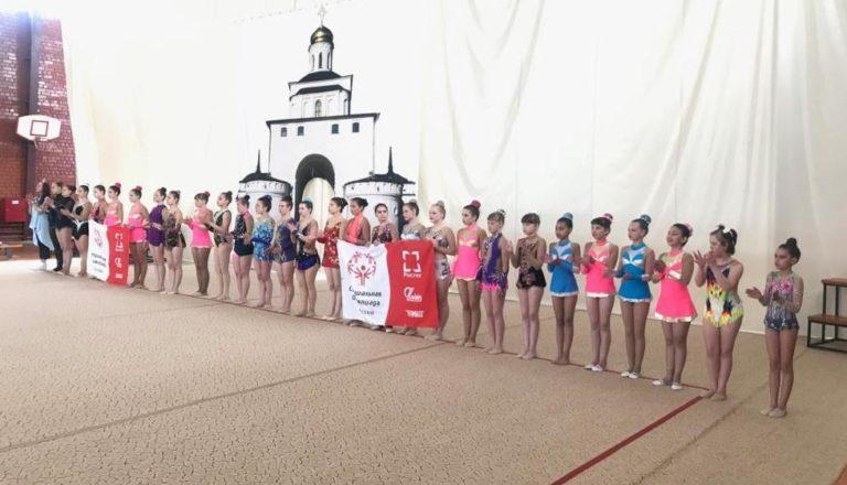 Успех петербурженок на Всероссийской Специальной Олимпиаде по художественной гимнастике.