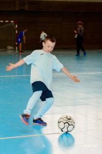 Мини-футбол для детей с синдромом Дауна в Санкт-Петербурге