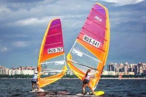 Впервые в России и Санкт-Петербурге - чемпионат мира по виндсёрфингу  среди юниоров