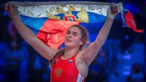 Петербурженка Наталья Воробьева — снова чемпион мира по вольной борьбе.