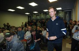 Финалист US Open Даниил МЕДВЕДЕВ на ST. PETERSBURG OPEN 2019.