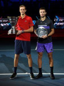 Даниил Медведев победил на St. Petersburg Open 2019