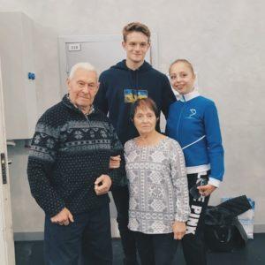 Выдающийся тренер по фигурному катанию Игорь Москвин - юбиляр.