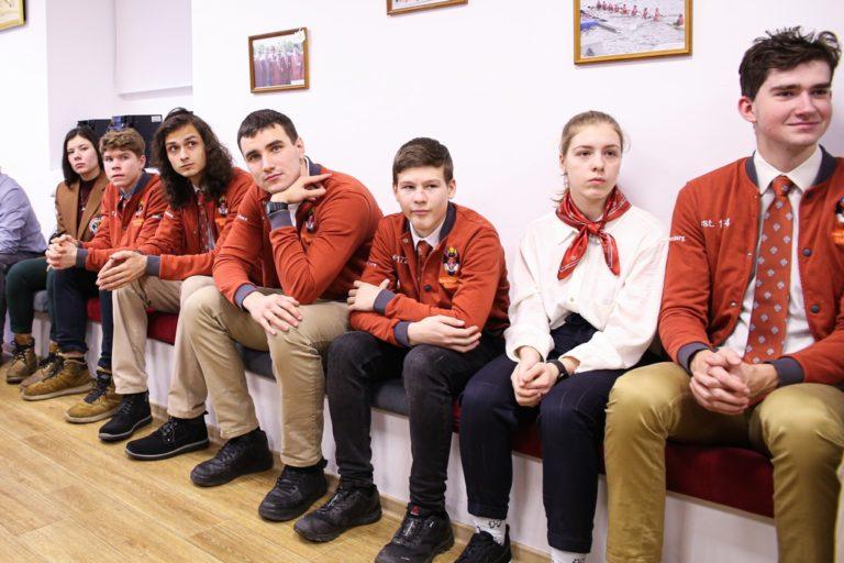 Открытие кают-компании гребного клуба СПбГУ