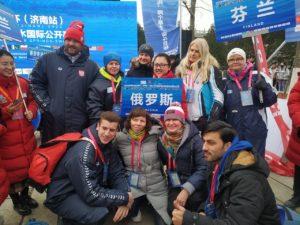 Наталья Нефёдова на чемпионате мира по зимнему плаванию
