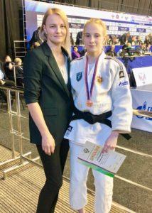 Евгения Кондрашова снова на пьедестале Всероссийских соревнований по дзюдо