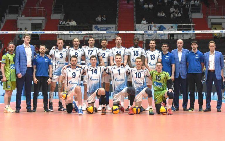 Волейбольный «Зенит» стал первым полуфиналистом Кубка ЕКВ 2019/2020
