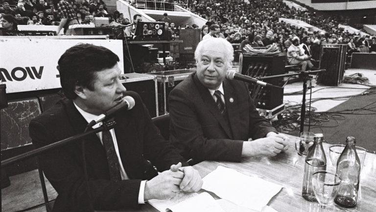 Знаменитый спортивный комментатор Геннадий Орлов празднует юбилей!