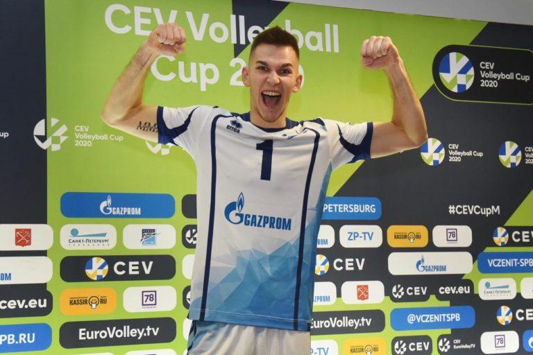 Волейболисты «Зенита» готовы к Кубку Европейской конфедерации.