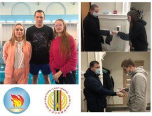 Волонтеры Общественного движения спортивных волонтеров Санкт-Петербурга